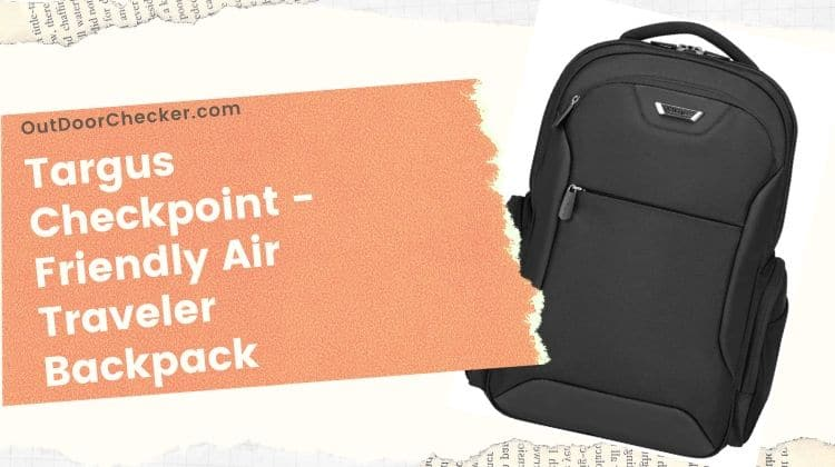 Targus Checkpoint -Friendly Air Traveler Backpack