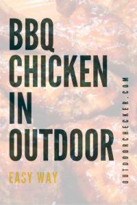 BBQ Chicken in outdoor