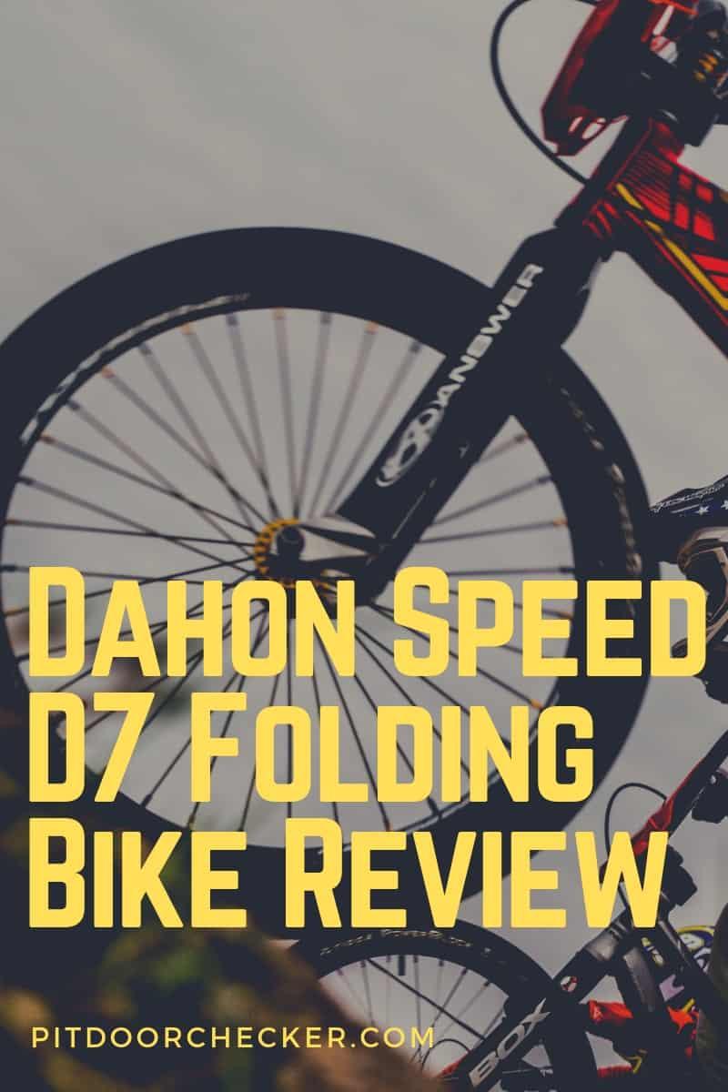 Dahon Speed D7 Folding Bike Review