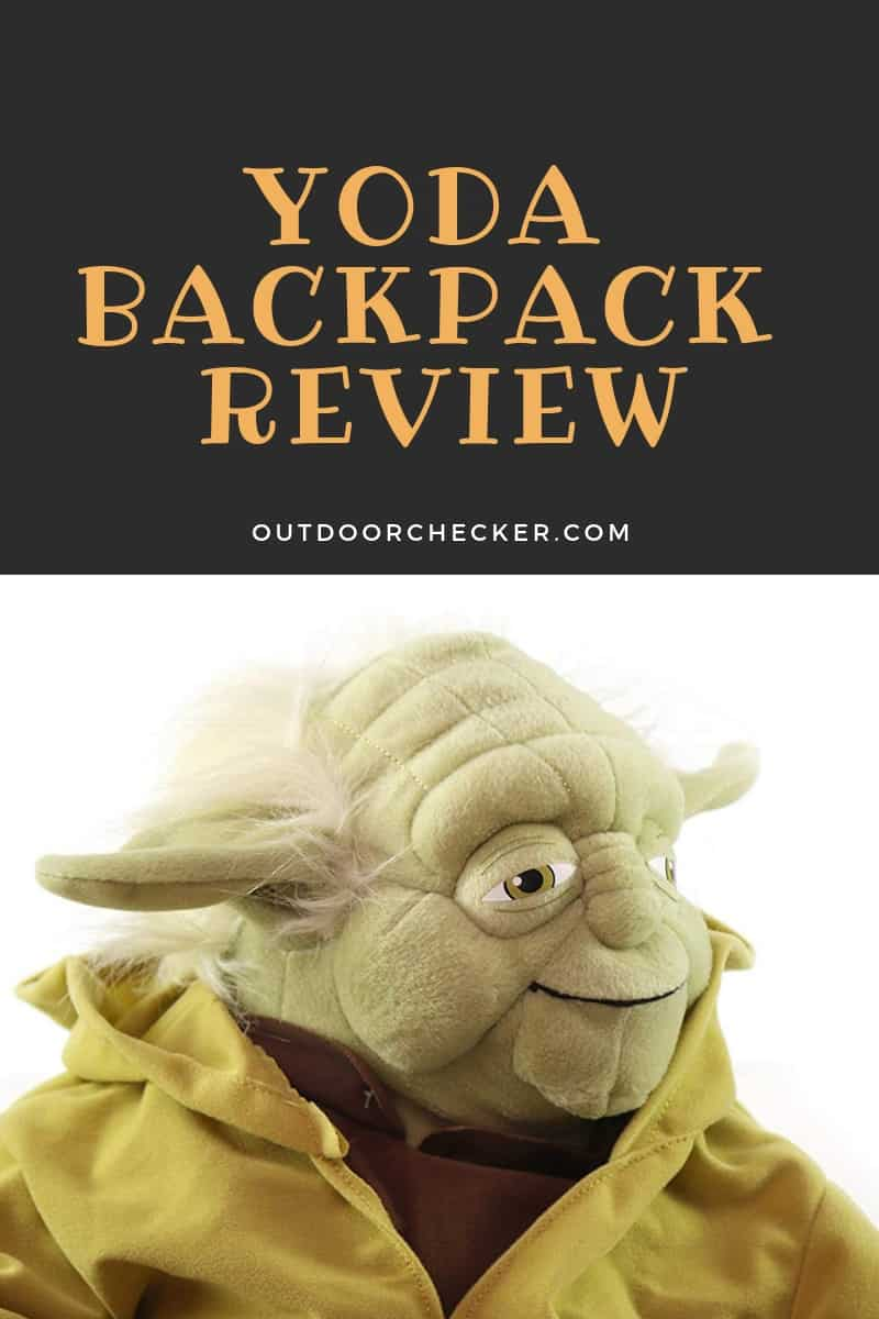 Yoda Backpack Review
