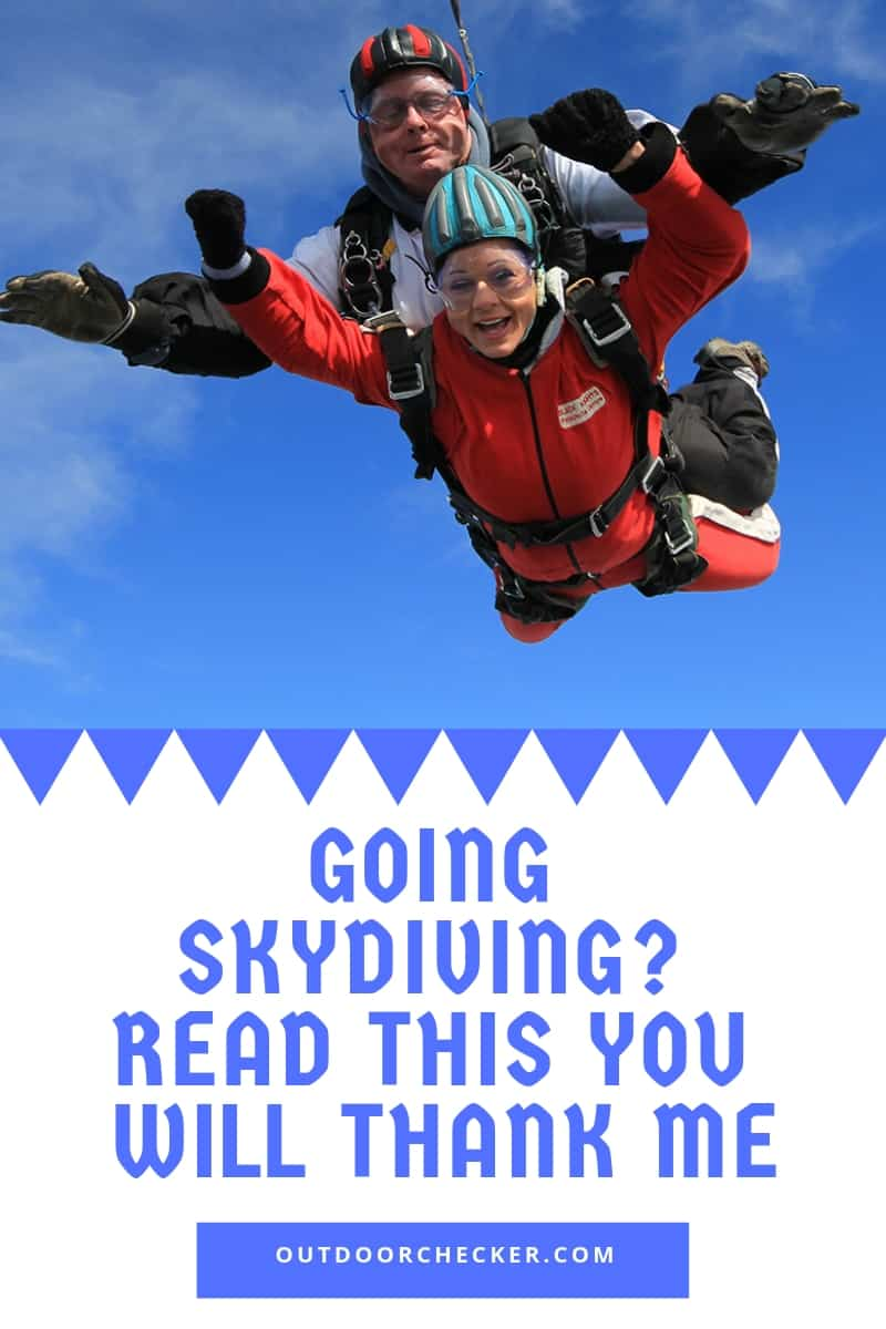 Going Skydiving? Read This You Will Thank Me