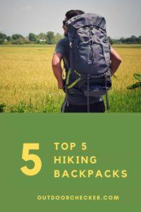 top 5 hiking backpacks