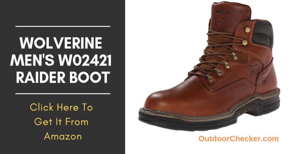 Wolverine Men's W02421 Raider Boot