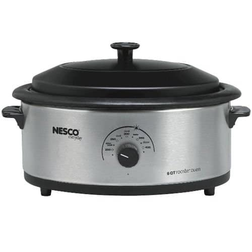 Nesco 4816-14-30 6-Quart Roaster Oven with Nonstick Cookwell Review