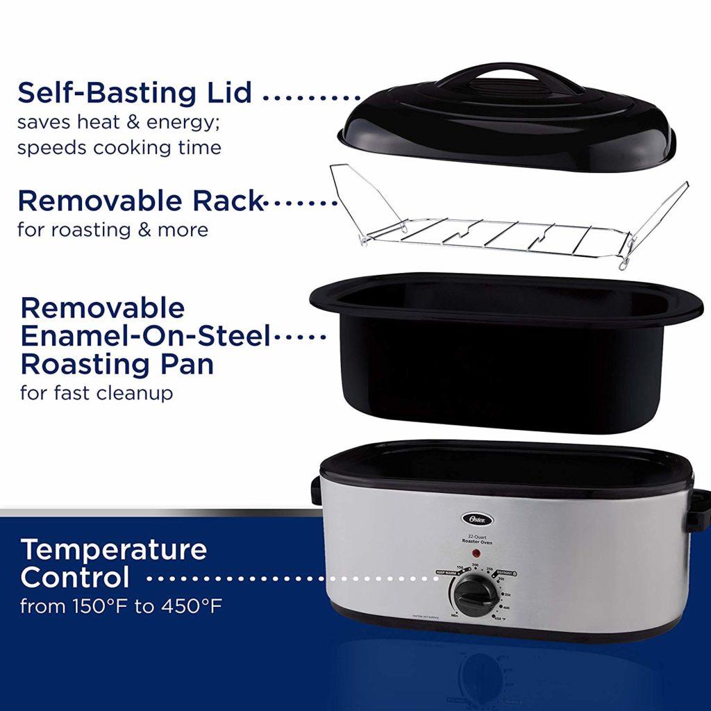 Oster CKSTRS23-SB 22-Quart Roaster Oven Reivew