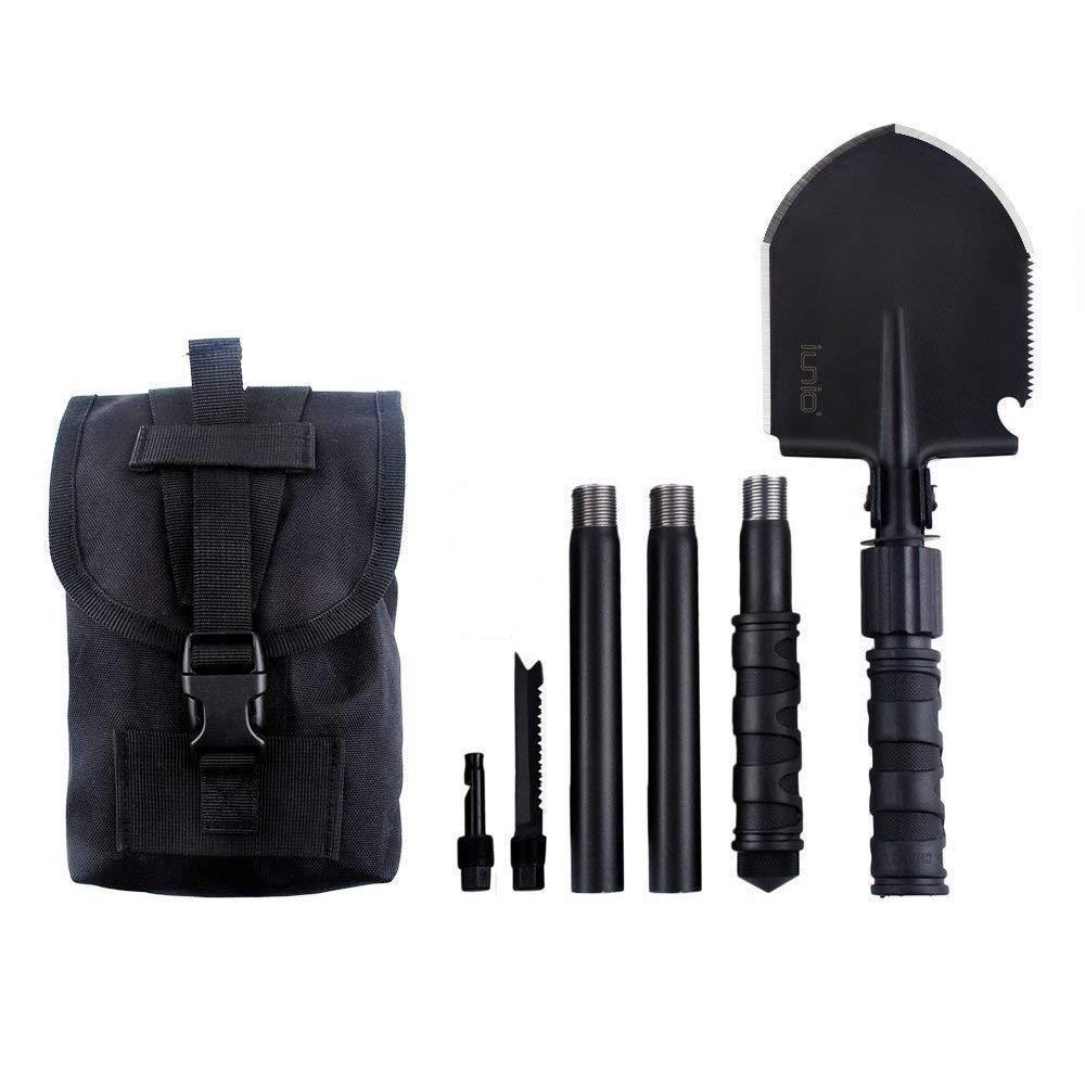 IUNIO Military Portable Folding Shovel