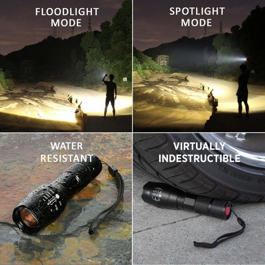 Tactical Flashlight Led Flashlights High Lumens,Portable Handheld Flashlight