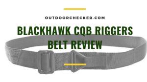 Blackhawk CQB Riggers Belt Review