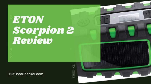 ETON Scorpion 2 Review - All-In-One Emergency Radio