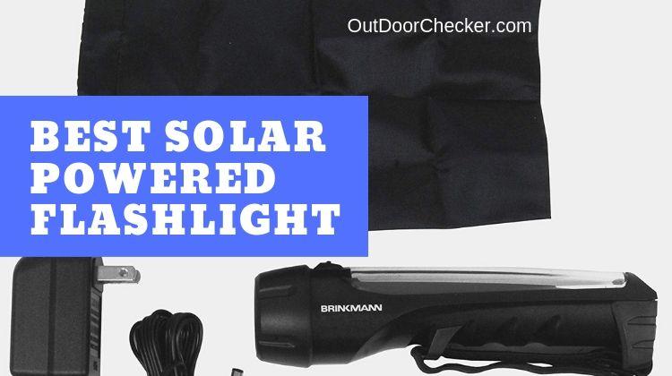 Best Solar Powered Flashlight